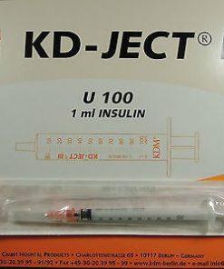 Seringues à insulines KDM