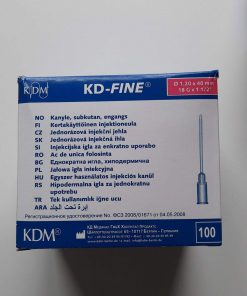 Aiguille KDM 18G1 BL 1,2x40mm Rose