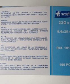 Aiguilles 23gx1 Eurofine Bleu