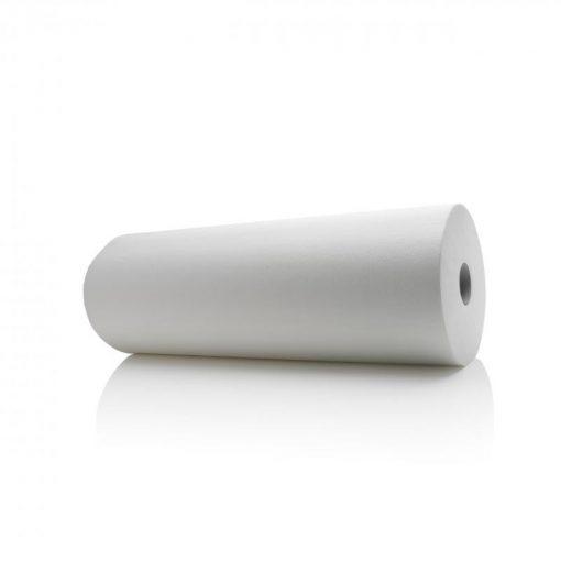Rouleau d'examen 50m x 50 cm blanc 2 plis Granulé