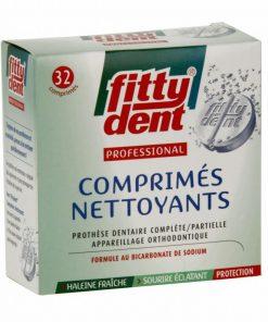 32 comprimés nettoyants pour prothèse dentaire