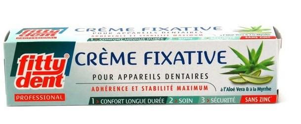 Crème fixative pour prothèse dentaire 40g